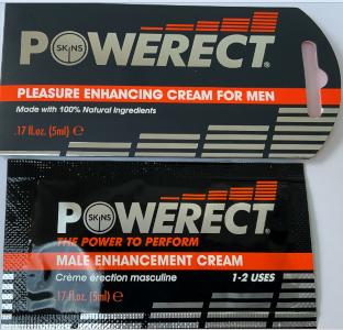 Power erect pleasure enhancing cream for men